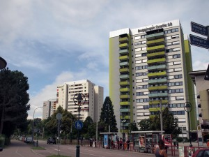 フライブルグ住宅3棟