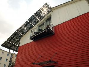 太陽光パネル屋根
