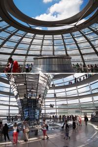 ドイツ連邦議会議事堂ドーム部分