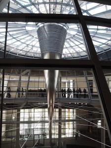 ドイツ連邦議会議事堂ドーム下