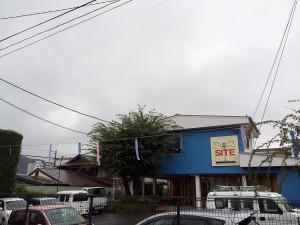 岡谷サイト 雨降り