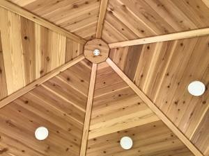 6角形ハウス天井